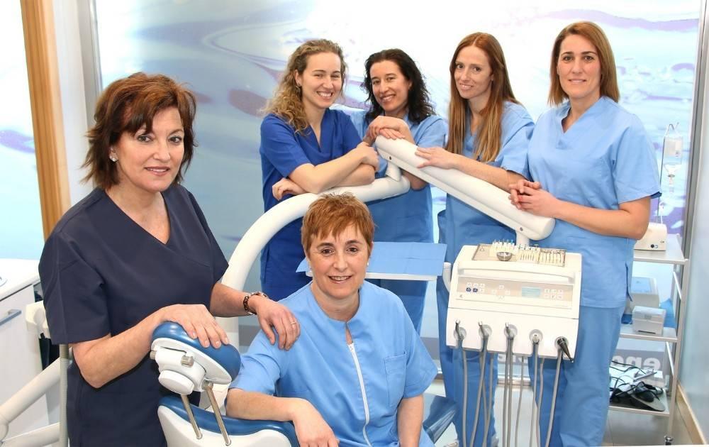 Equipo Achutegui Dental Hortz Klinika Clinica Dental Odontologia Amara Donostia San Sebastian